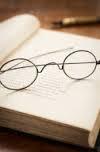 book n glasses