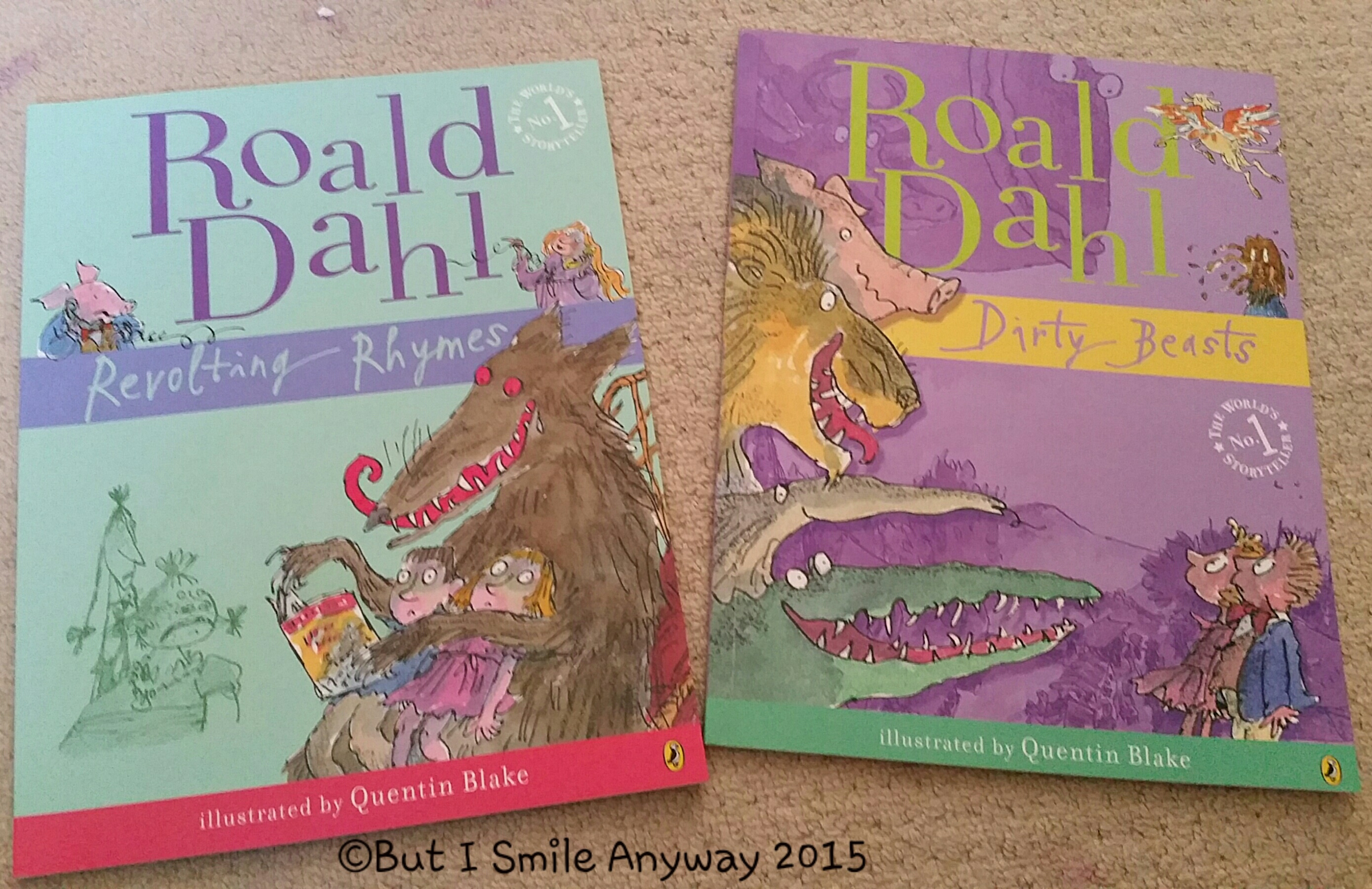 Citaten Roald Dahl : Roald dahl but i smile anyway