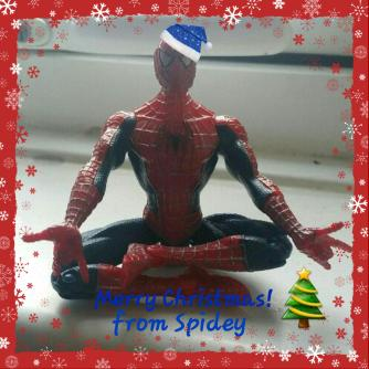 Image result for christmas spidey serene sunday