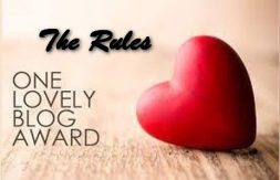 TRH One lovely blog award Rules