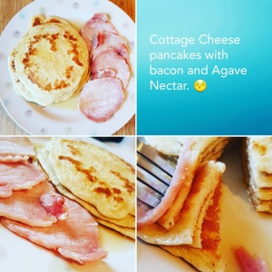 Cottage Cheese Pancakes #Recipe